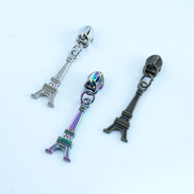 #5 Eiffel Tower zipper pulls