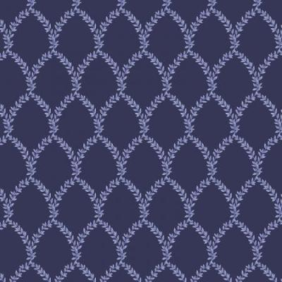 Strawberry Fields - Laurel - Navy Fabric