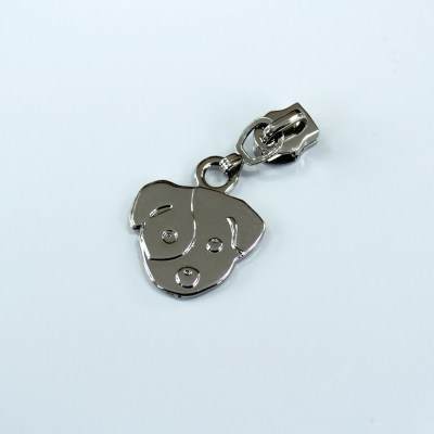 Dog Zipper Pull