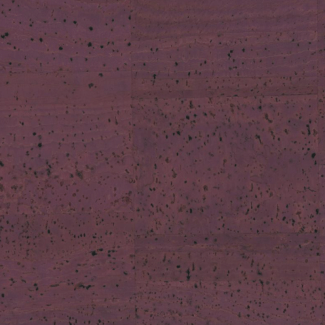 Purple cork fabric