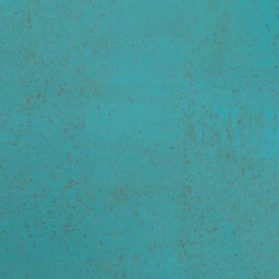 ocean blue cork fabric