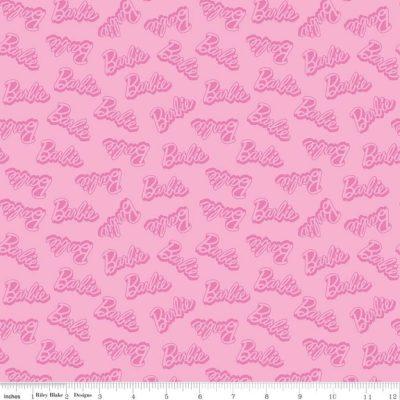 Barbie Words Pink