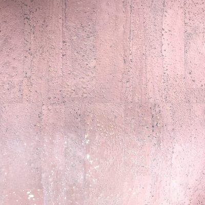 Cork fabric pearl rose gold