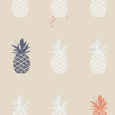 Ananas Cream in Canvas