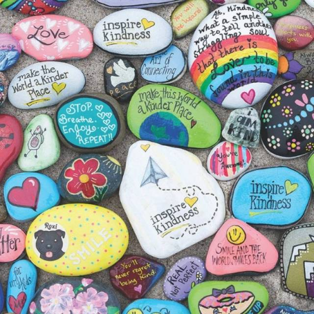 Rock Painting Complete Guide to Painted Rocks  Kindness Stones or