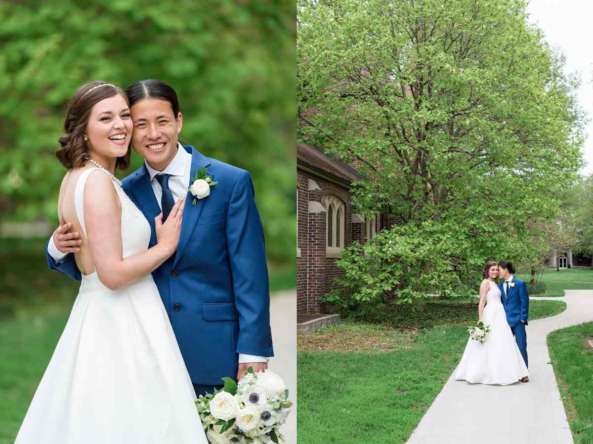 wedding at grinnell college