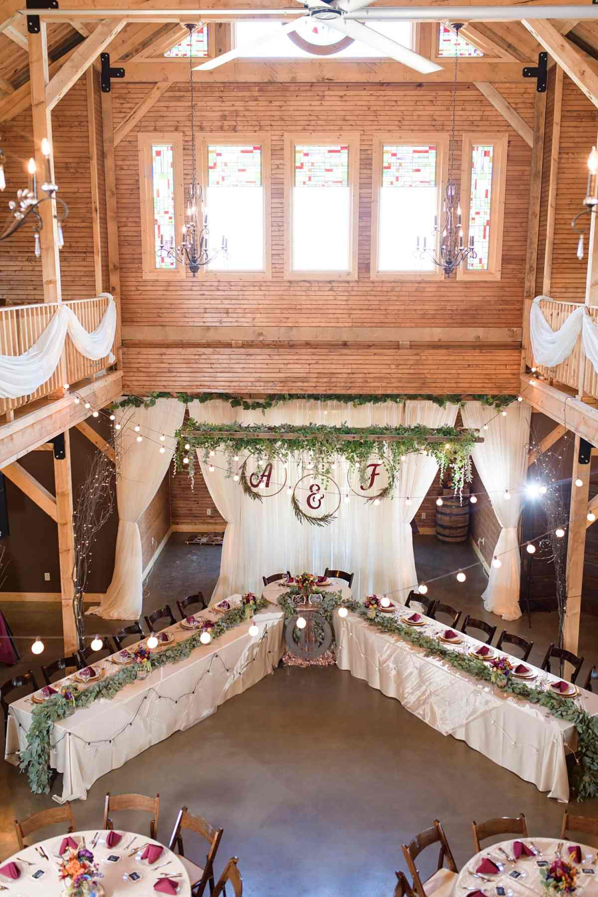 sugar grove vineyard wedding venue