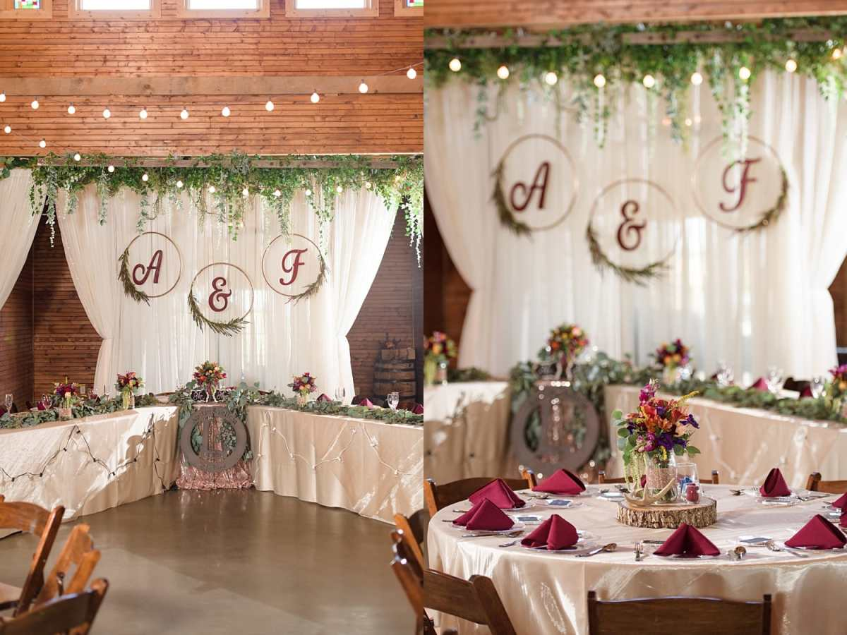 Iowa barn wedding venue