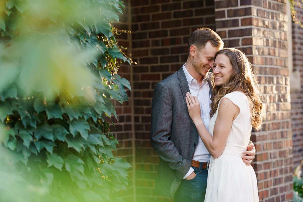 grinnell summer engagement photos