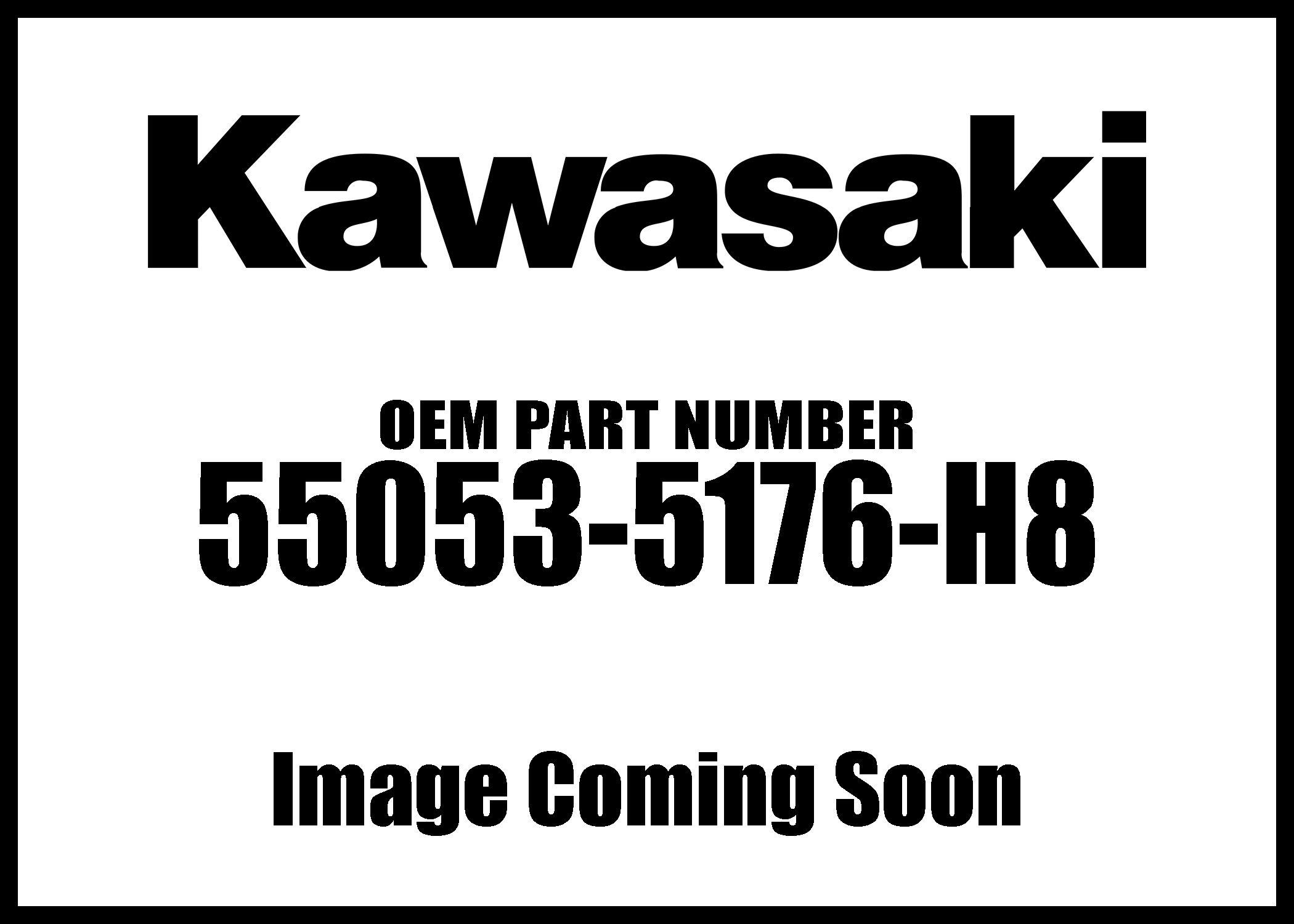 Kawasaki 2009 NINJA ZX-6R Ebony Lh Side Cowling 55053-5176