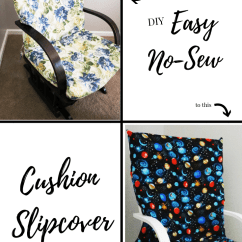 Diy Chair Cushion No Sew Outdoor Covers Bunnings Easy Slipcover Little Conquest Do You Love As Much I Are Doing This Or What Haha Let Me Know In The Comments