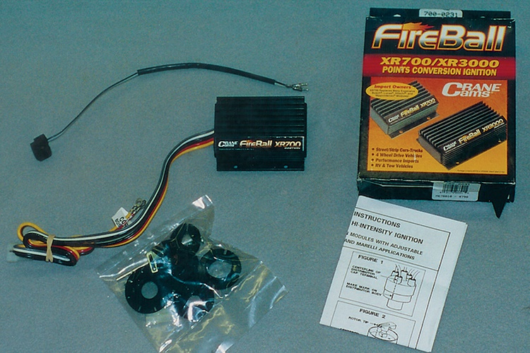 zap it! articles classic motorsports - crane ignition wiring diagram  triumph � fireball xr700