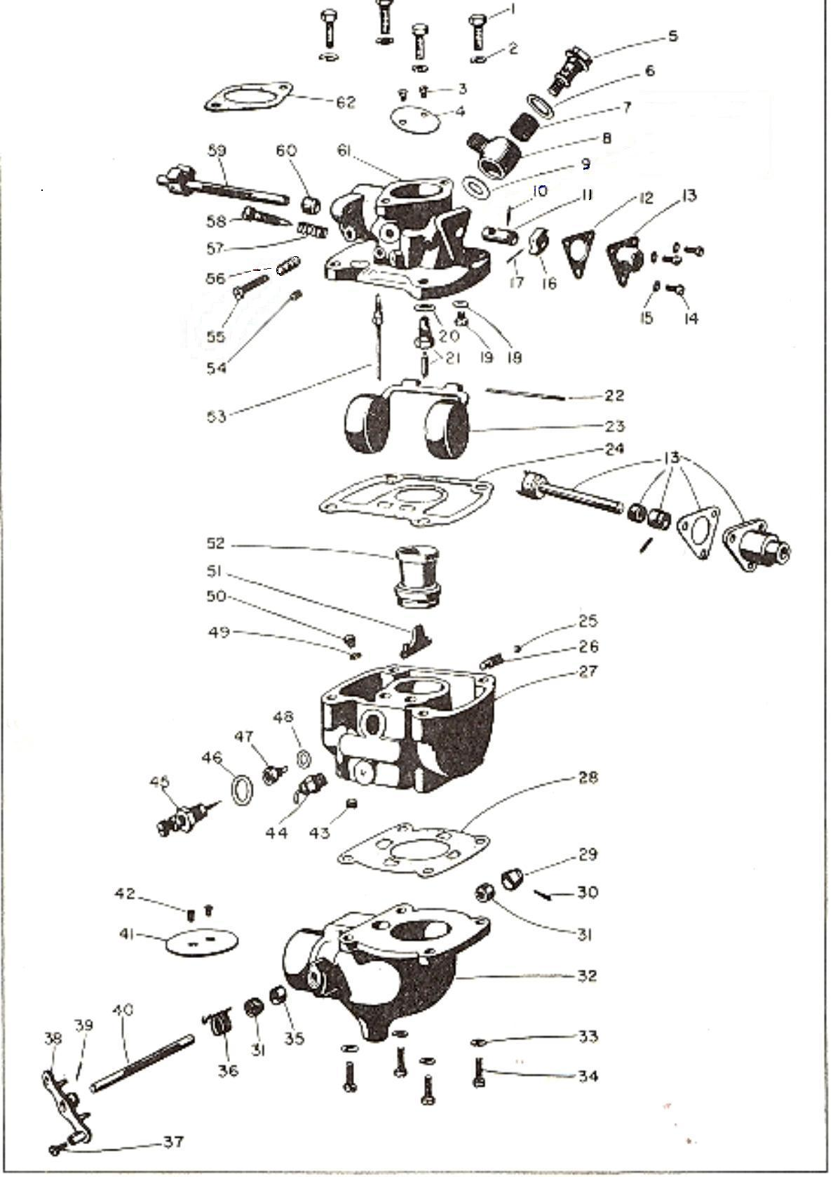 S Super E Shorty Carburetor Diagram