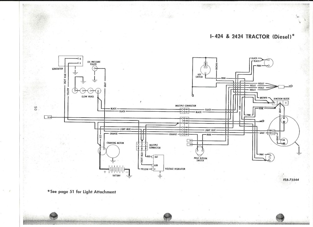 medium resolution of ih 444 diesel wiring general ih red power magazine community international 444 tractor wiring diagram