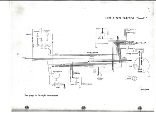 small resolution of ih 444 diesel wiring general ih red power magazine community international 444 tractor wiring diagram