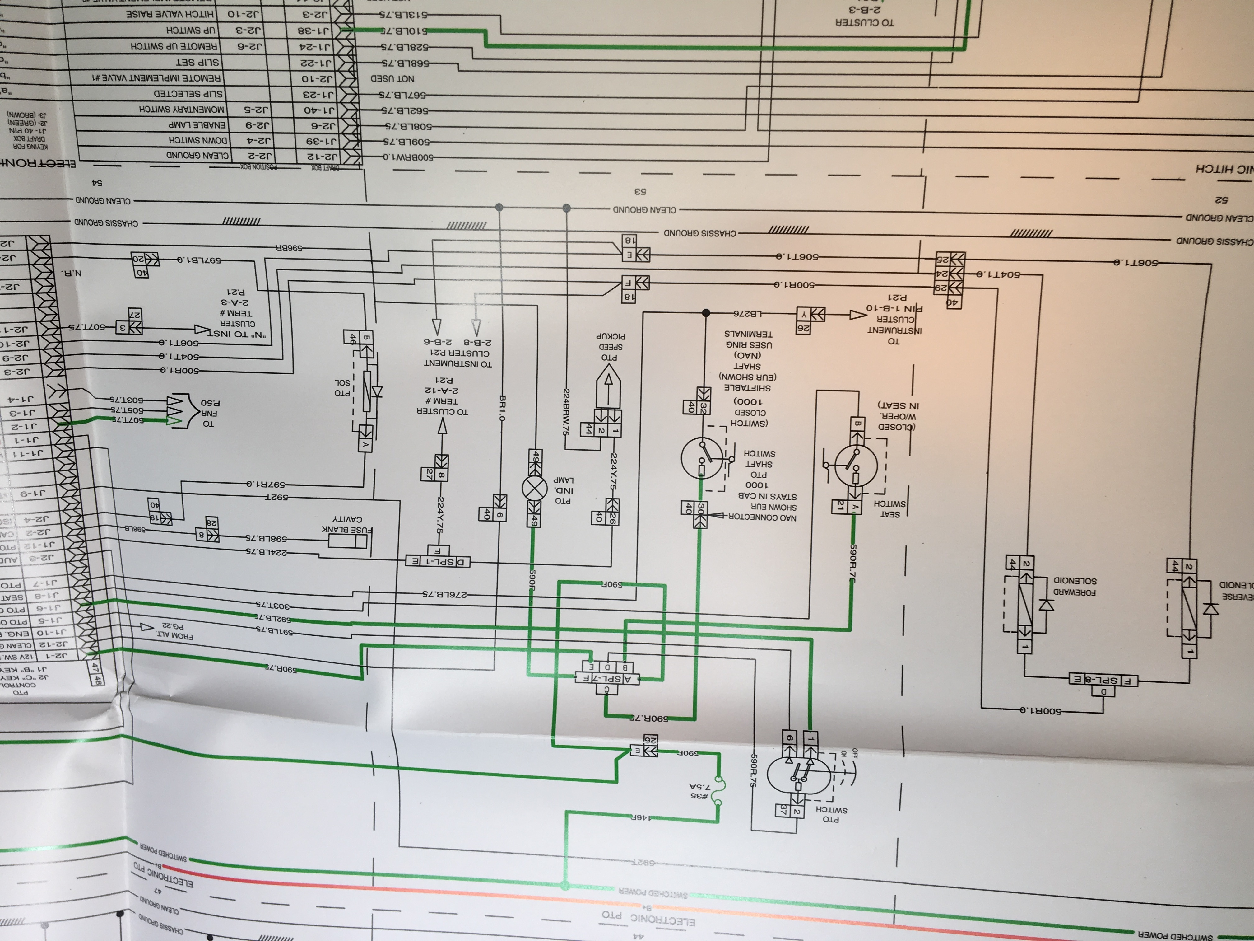 110 Electrical Schematic Wiring Diagram Mx 110 Won T Move General Ih Red Power Magazine Community