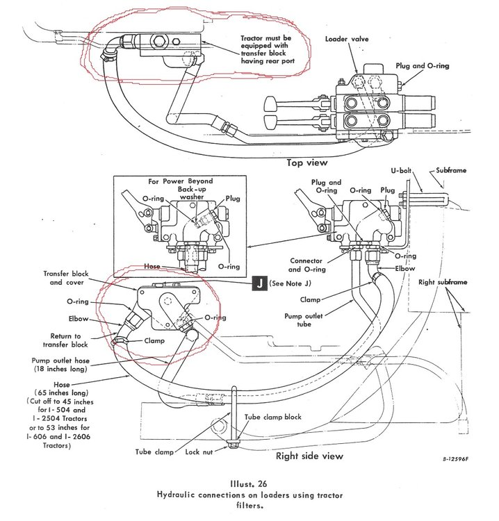 John Deere Electrical Wiring Diagrams Adding Remote Connecters To Ih 504 Built Without Any
