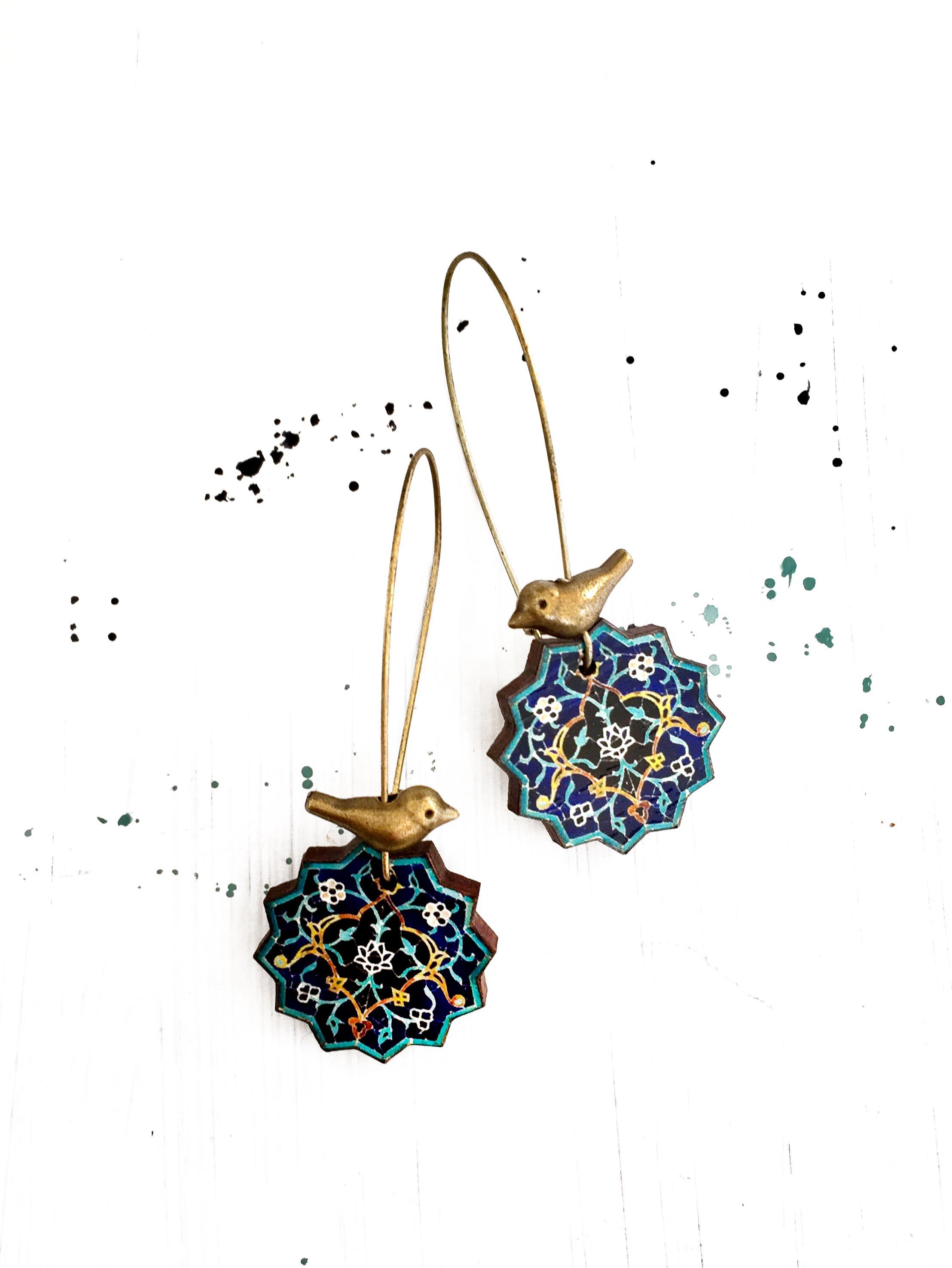 Persian Jewelry : persian, jewelry, SAHAR, Earrings, Persian, Jewelry