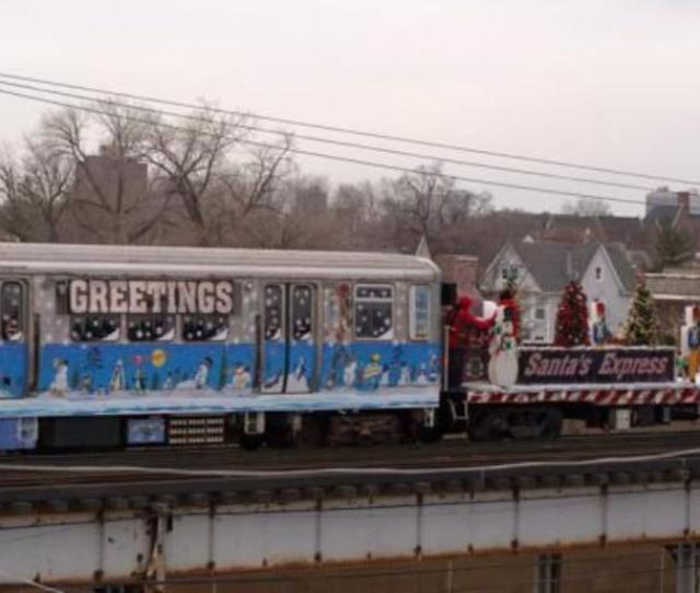Catch A Ride On The Cta Holiday Train