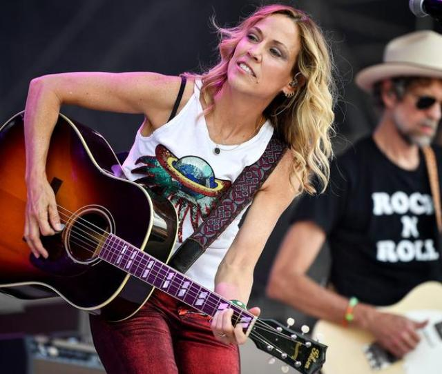 June 8 2018 Manchester Tn Usa Sheryl Crow Performs At The