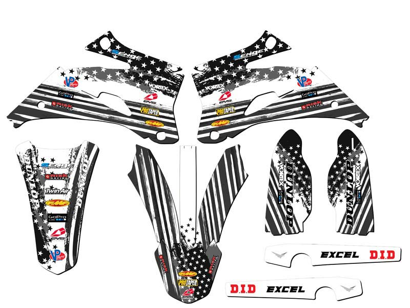 2008 2009 YZ 250F 450F GRAPHICS KIT YZ250F YZ450F YAMAHA