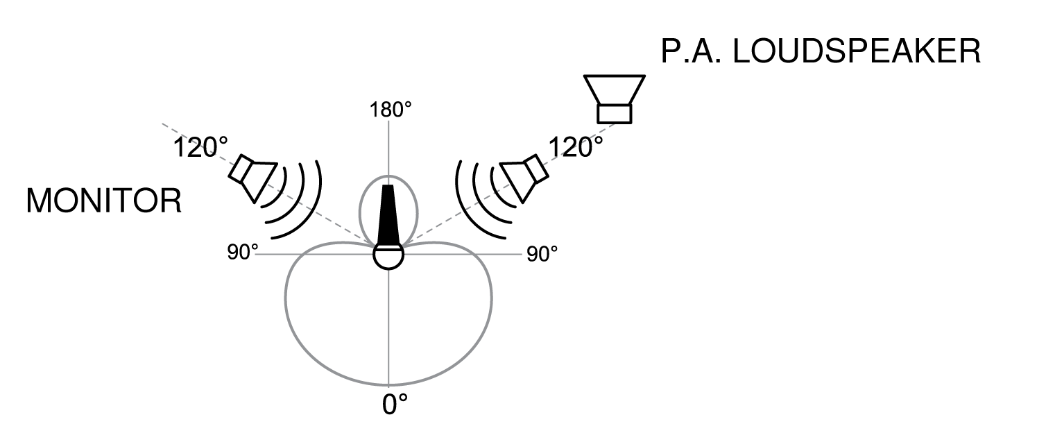 hight resolution of avoiding pickup of unwanted sound sources