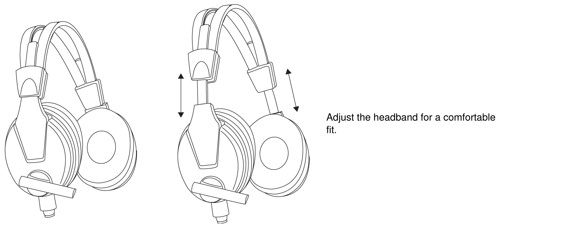 hight resolution of wearing the headset