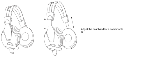 small resolution of wearing the headset