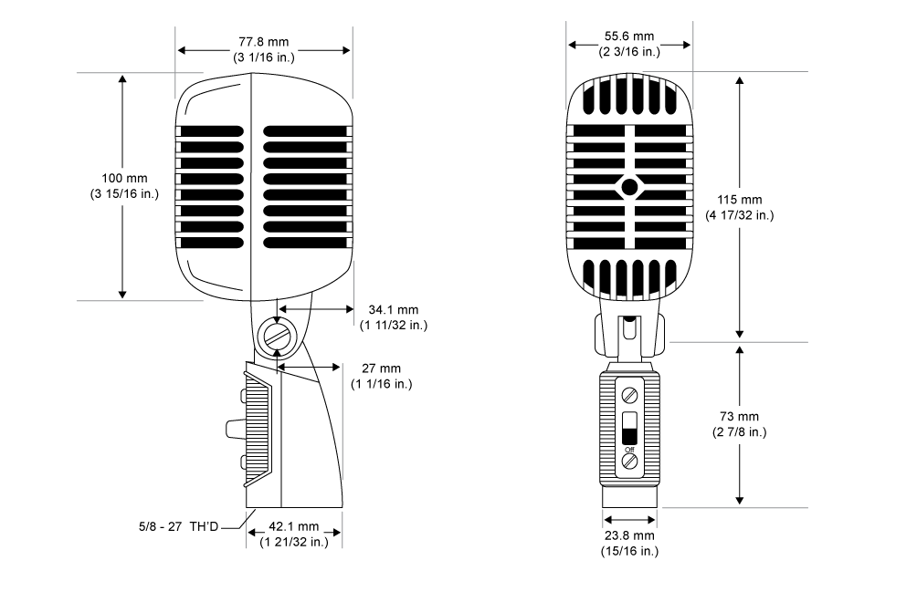 SHURE 55SH SERIES II WIRING DIAGRAM