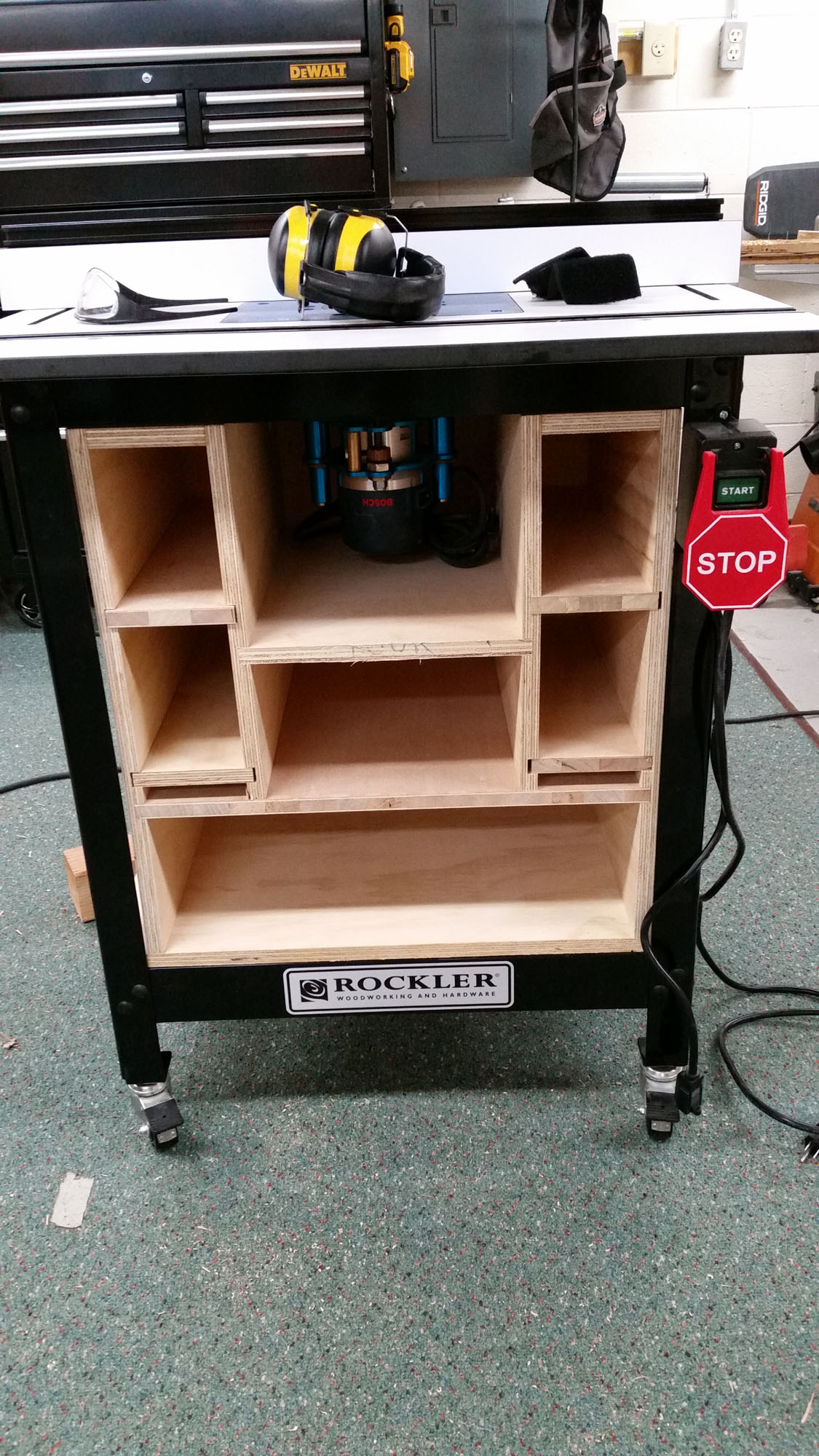 Rockler Router Table Lift