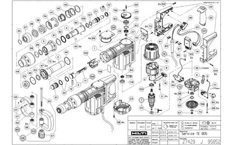 Parts Manual - Hilti - Power Tool Forum