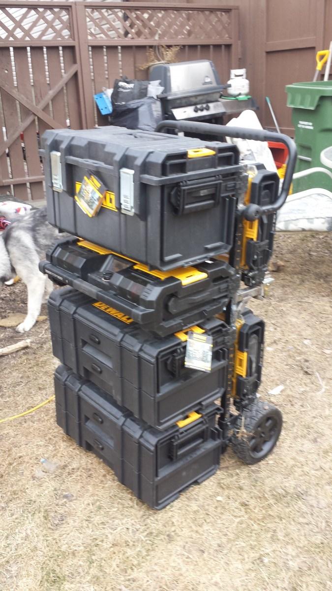 Dewalt Tough System Cart Modifications