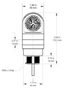 Weigh-Tronix A60 alarm