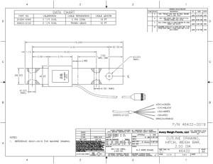 WeighTronix 25'' Hitch Bar (215940446)