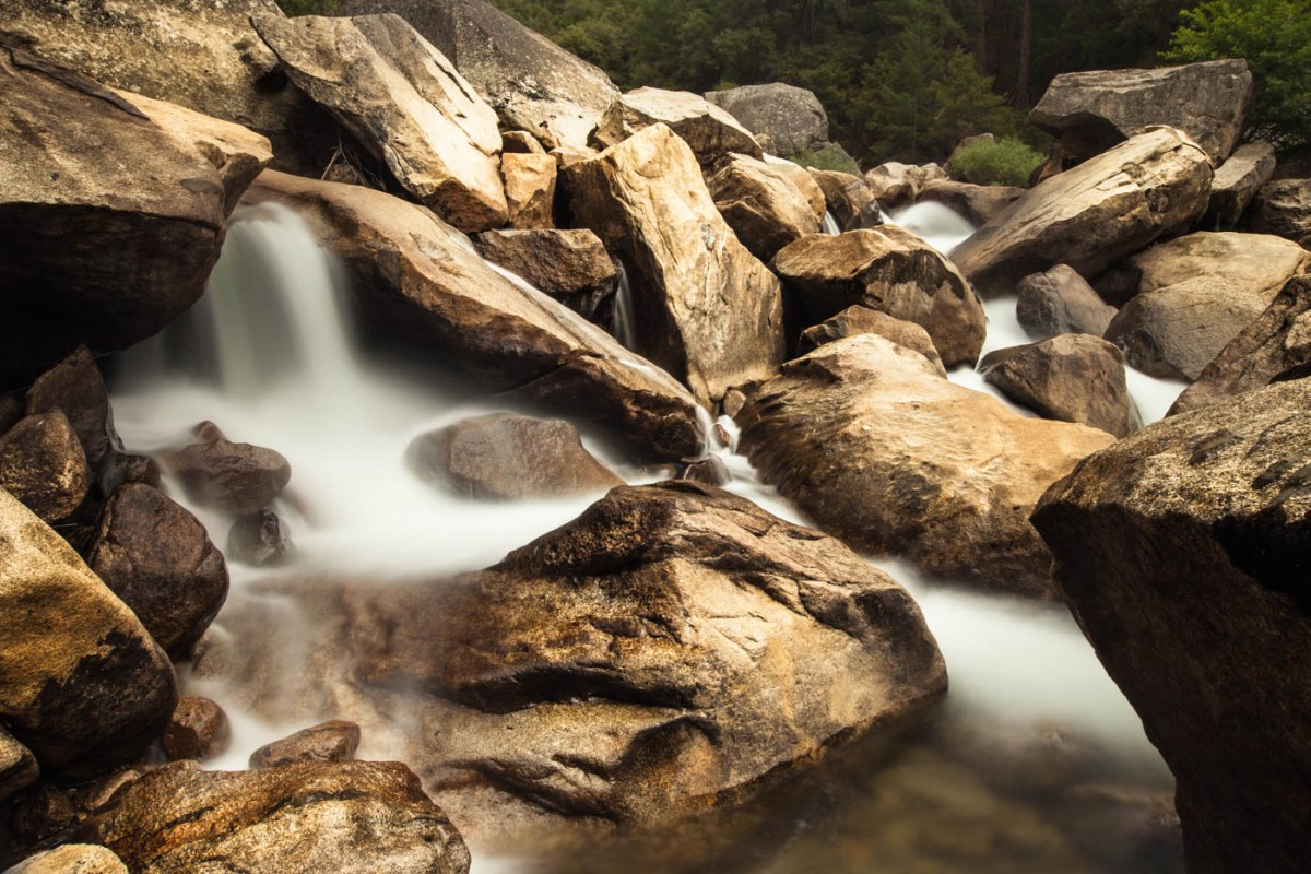 Merced River, Yosemite National Park - How to Photograph Silky Waterfalls #vezzaniphotography