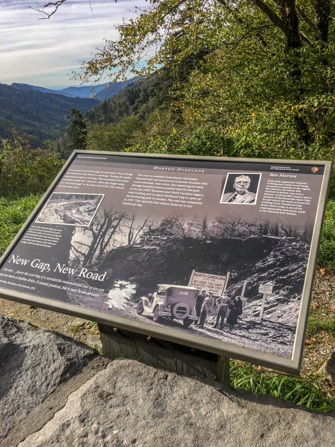 Mortons Gap Overlook Photograph - Must See Locations Along Newfound Gap Road at Great Smoky Mountains National Park #vezzaniphotography