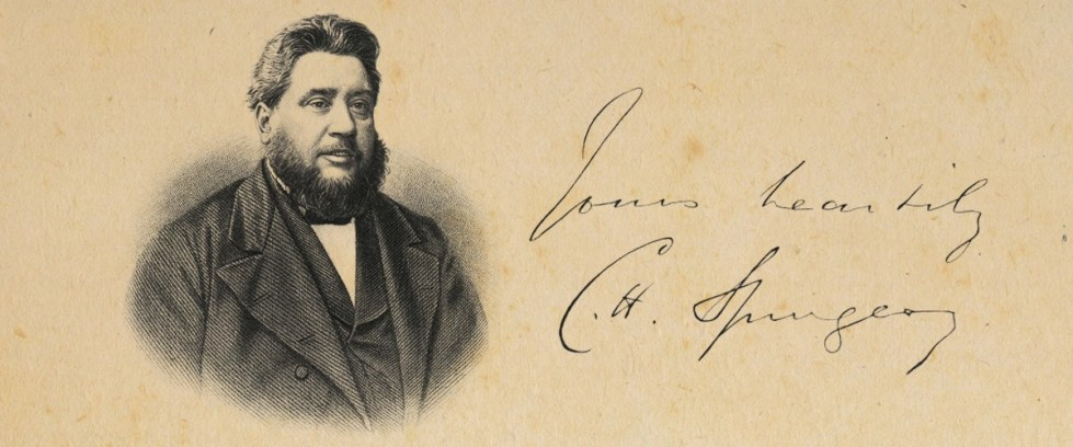 Charles Spurgeon [Letters]