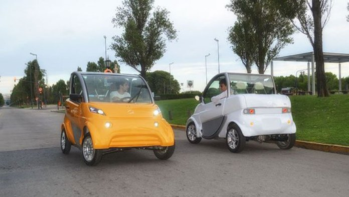 Autos eléctricos en Argentina: Sero Electric, de producción nacional.