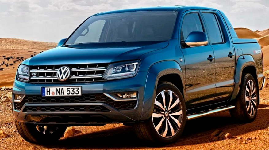 Volkswagen Amarok, the second best-selling pickup of the year.