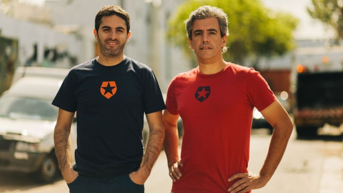 Eugenio Pace and Matías Woloski, founders of Auth0