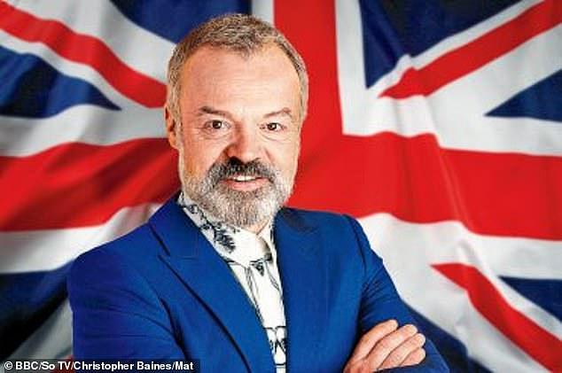 ¡Prepararse!  Graham Norton ha confirmado que Eurovisión seguirá adelante en 2021 después de que fue cancelada el año pasado debido a la pandemia de coronavirus (en la foto antes del especial de 2020)