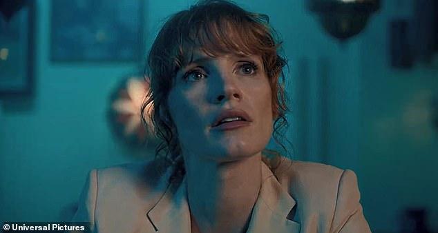 Haciendo un esfuerzo: Jessica Chastain declaró que se aseguró de que sus coprotagonistas recibirán la misma cantidad que ella por trabajar en el próximo thriller de espías The 355.