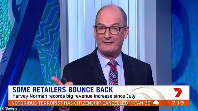 Divisivo: puede ser uno de los presentadores de televisión de desayuno más antiguos de Australia, pero el presentador de Sunrise, David 'Kochie' Koch, sigue dividiendo opiniones 18 años después de asumir el papel.