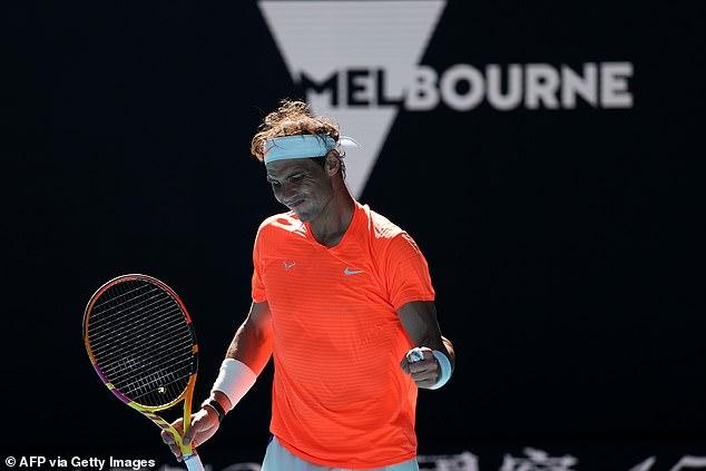 Rafael Nadal consiguió una victoria rutinaria sobre Laslo Djere en la primera ronda del Abierto de Australia