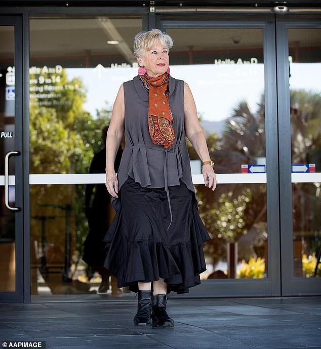 Trágica: Maggie Beer, de 76 años, (en la foto) ha revelado su lucha contra el dolor al Sunday Telegraph un año después de la muerte inesperada de su hija Saskia, de solo 46 años.