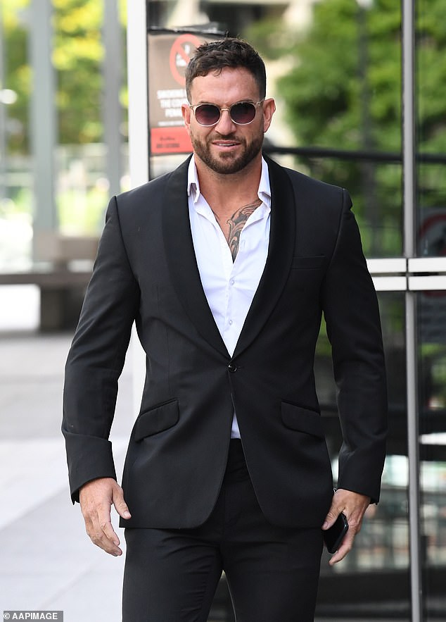 Asunto judicial: la ex estrella de Married At First Sight, Daniel Webb, se enfrentó a la corte el martes por su presunta participación en una elaborada estafa telefónica