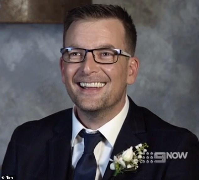 Cringe: Russell Duance admitió que no había tenido suerte en el amor en una nueva promoción para la temporada 2021 de Married at First Sight