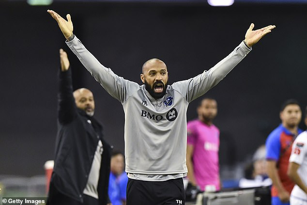 Thierry Henry emerged as the front-runner for the Bournemouth job but eventually missed out