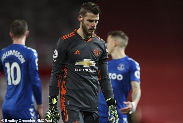 El estatus de David de Gea como número uno indiscutible del Manchester United está seriamente amenazado