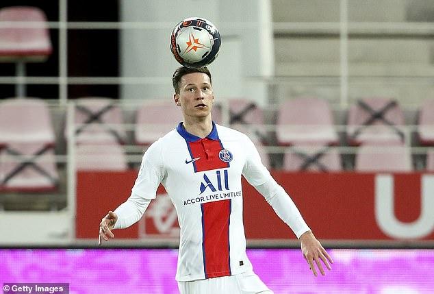 Según los informes, el Bayer Leverkusen se está acercando a fichar a Julian Draxler del PSG en un golpe para el Arsenal